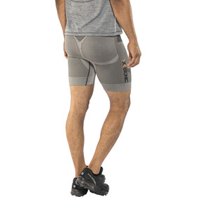 X-Bionic Running Fennec EVO Pants short Herrer, anthracite/silver